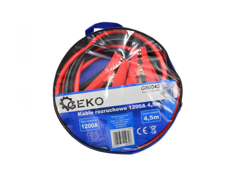 Startovací kabely 1200A, 4,5m GEKO