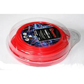 Struna 5-hran 50m 2,4mm MAR-POL (červená)