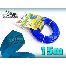 Struna 6-hran 15m 2,65mm VERSUS (modrá)