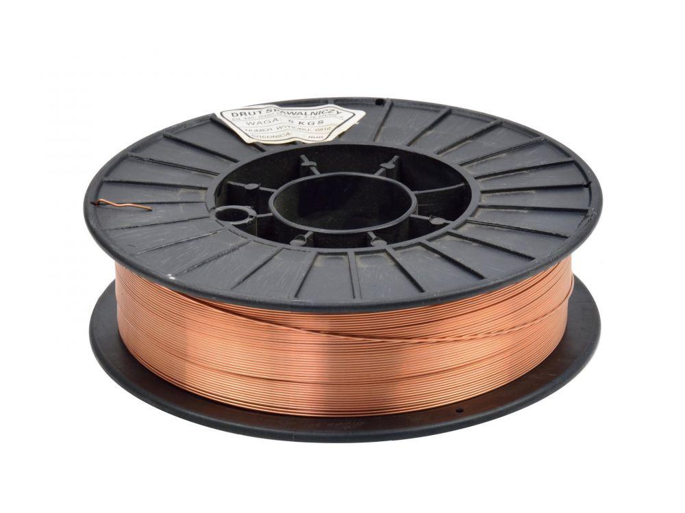 Svářecí drát 0,8mm 5kg GEKO