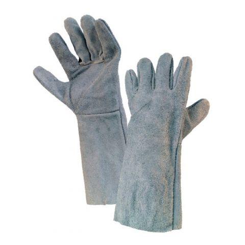 Svářečské rukavice SYRO, hov. štípenka vel.11