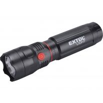 Svítilna 100lm LED CREE + 150lm COB s magnetem EXTOL LIGHT