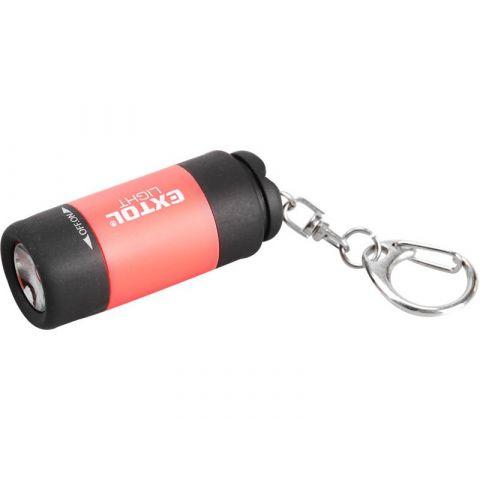 Svítilna USB nabíjecí s LED žárovkou - přívěšek EXTOL LIGHT