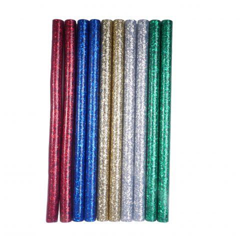 Tavné lepidlo PAK 01 tyčinky 11x200mm 10ks třpytivé glitter