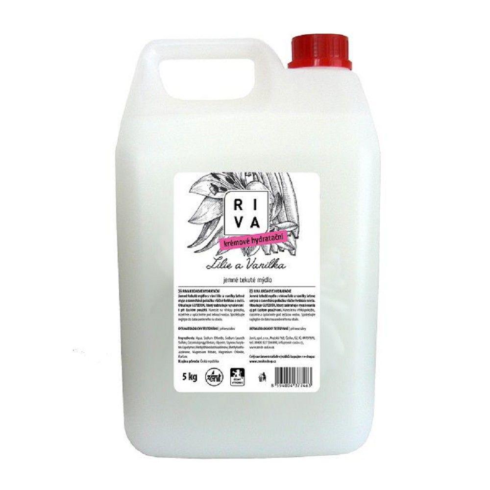 Tekuté mýdlo Riva creme hydration, 5 kg *HOBY 5.3Kg Z315200