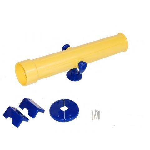 Teleskop/dalekohled na dětské hřiště, žlutý JUST FUN