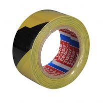TESA páska 60760-50mmx33m značkovací červenobílá