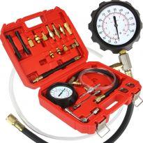 Tester měření tlaku oleje a paliva sada 21 ks MAR-POL