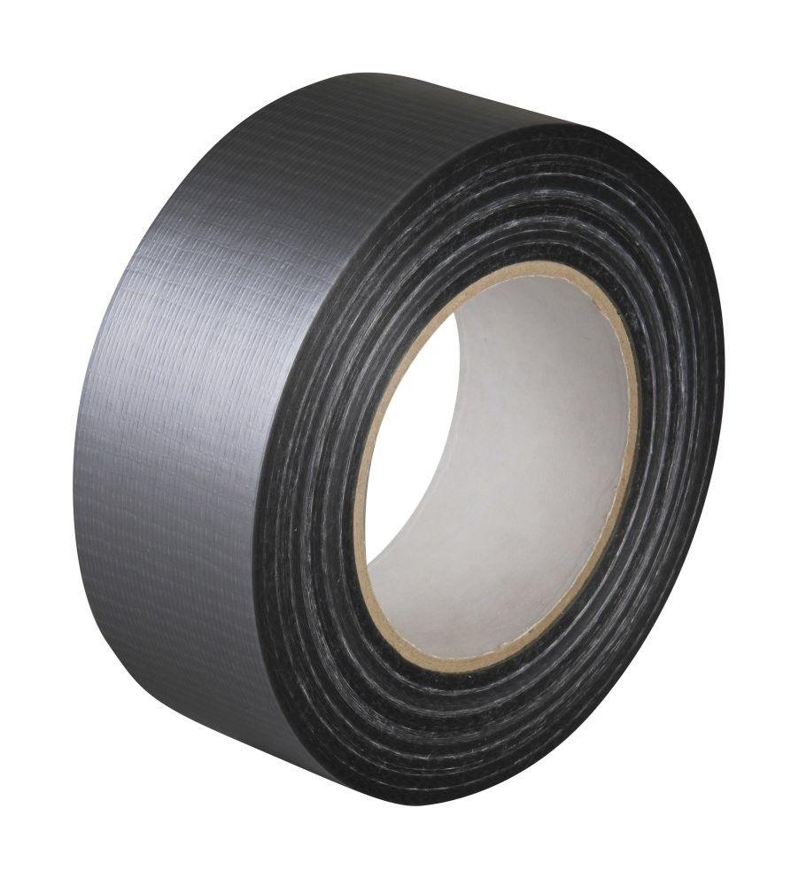 Textilní stříbrná DUCT páska 48mmx50m LOCKTAPE *HOBY 0Kg 2702381