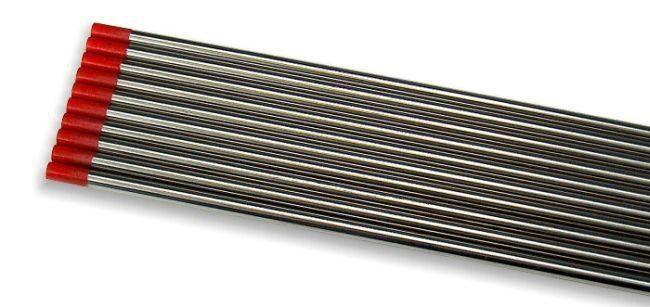 TIG wolframová elektroda 1ks, 2,0mm/175mm, červená (WT20) LAND & WELDER