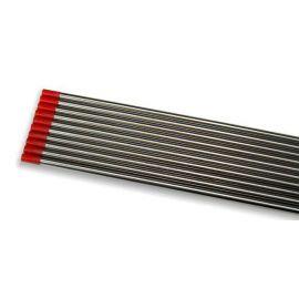 TIG wolframová elektroda 1ks, 2,4mm/175mm, červená (WT20) LAND & WELDER