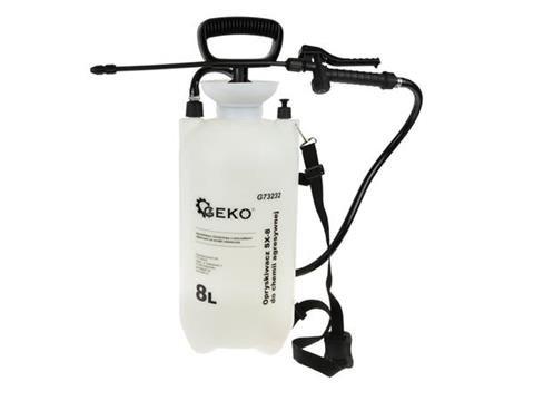 Tlakový postřikovač 8l přes rameno na agresivní chemii GEKO