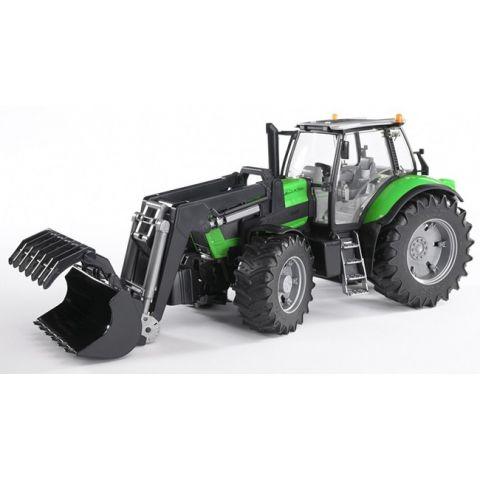 Traktor Deutz Agrotron X720 s čelním nakladačem 03081 BRUDER