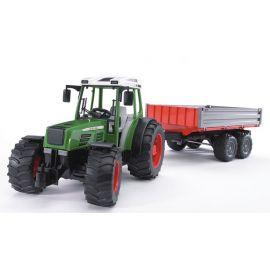 Traktor Fendt 209 S s přívěsem 02104 BRUDER
