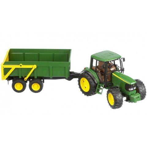 Traktor John Deere 6920 s přívěsem 02058 BRUDER