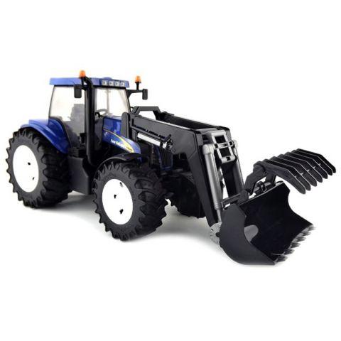Traktor New Holland T8040 s čelním nakladačem 03021 BRUDER