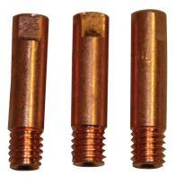 Tryska 0,8 mm M 6/8 (3 ks) ke svařovacímu hořáku TBI 250/ MB 25 GŮDE