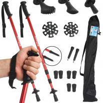 Turistické hůlky nastavitelné 2ks s příslušenstvím DAKOTA Sport