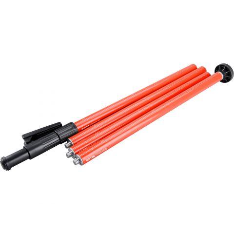 Tyč-stativ k laserům, teleskopická/šroubovací, dosah až 3m, průměr 32mm  EXTOL PREMIUM