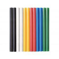 Tyčinky tavné, mix barev, Ø 7,2x100mm, 12ks EXTOL CRAFT