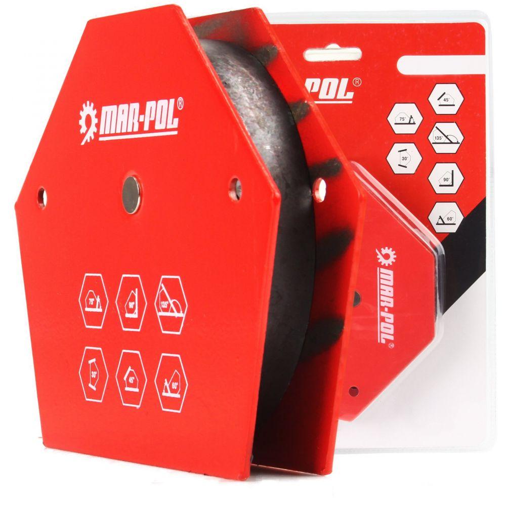 Úhlový magnet 30°/45°/60°/75°/90°/135°, 15kg MAR-POL