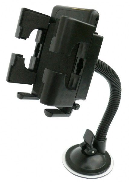 Univerzální, otočný držák pro mobilní telefon, navigaci, MP4 do auta s přísavkou Apollo Nářadí-Sklad 1 | 0