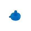 Uzávěr, redukce pro kontejner na vodu IBC, vnitřní závit S60x6, vnejší závit 1/2''