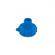 Uzávěr, redukce pro kontejner na vodu IBC, vnitřní závit S60x6, vnější závit 1''
