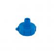 Uzávěr, redukce pro kontejner na vodu IBC, vnitřní závit S60x6, vnější závit 3/4''