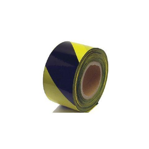 Varovací páska 250M černá-žlutá