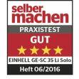 Vertikutátor Aku GE-SC 35 Li Solo Einhell Expert Plus