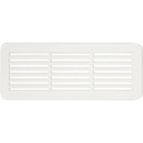 Větrací mřížka dveřní - VM 150x60 B bílá