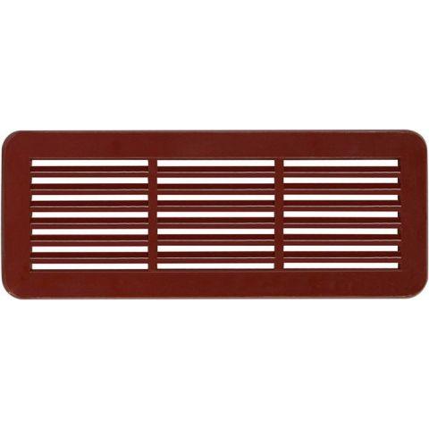 Větrací mřížka dveřní - VM 150x60 H hnědá