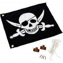 """Vlajka se systémem zvedání """"Piráti"""" KAXL"""