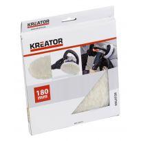 Vlněný leštící disk 180mm KREATOR KRT239070