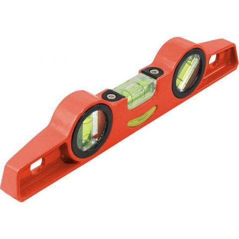 Vodováha kovová s magnety, 250mm, přesnost 1mm/1m, 3 libely 0°, 45° a 90°, elektronicky testováno, EXTOL PREMIUM