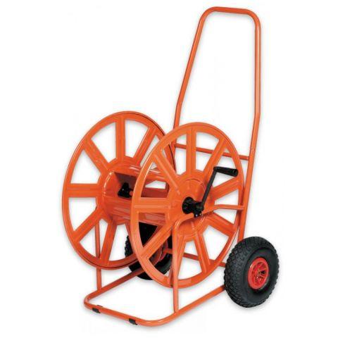 Vozík na hadice 3/4''-140m, nafukovací pneu, PROFESSIONAL