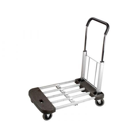 Vozík skládací, nastavitelná nosná plocha 53-74x44cm, nosnost 150kg EXTOL PREMIUM