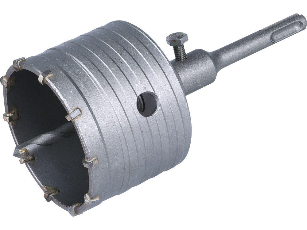 Vrták SDS PLUS do zdi korunkový, O 79mm, délka stopky 100mm, EXTOL PREMIUM *HOBY 0.92Kg 8801960