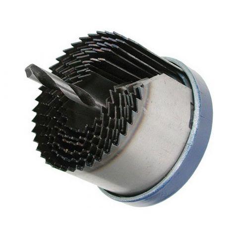 Vrták vykružovací do dřeva nebo sádrokartonu, 26-63mm, hloubka vrtání do 38mm, kalené zuby EXTOL CRAFT