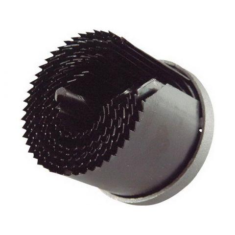 Vrták vykružovací do dřeva nebo sádrokartonu, 7 průměrů: 26-63mm, hloubka do 50mm EXTOL CRAFT