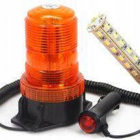 Výstražný maják, světlo oranžové 10-110V, 30 LED M82713 MAR-POL