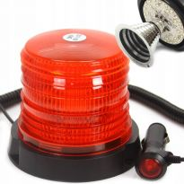 Výstražný maják, světlo oranžové 10-30V, 30 LED M82711 MAR-POL
