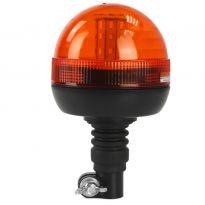 Výstražný maják, světlo oranžové 12-24V 8W 40 LED MAR-POL