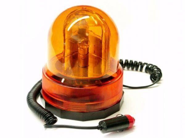 Výstražný maják, světlo oranžové 12V GEKO