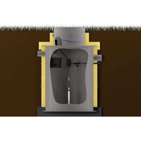 Vystrojení jímky na dešťovou vodu s čerpadlem KAXL