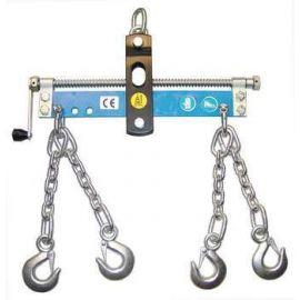 Vyvažovací zařízení k dílenskému jeřábu (korektor polohy), GÜDE