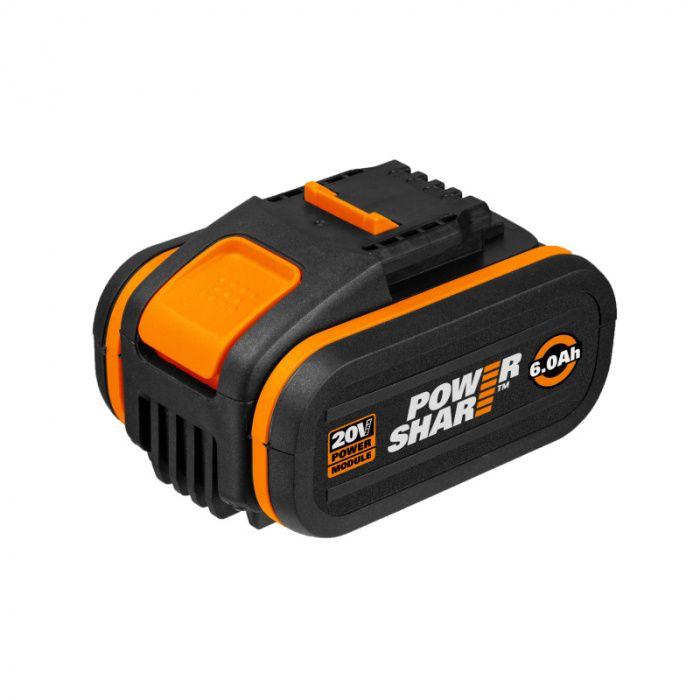 WA3641 - Akumulátor s indikátorem Li-Ion 20V, 6Ah WORX Orange