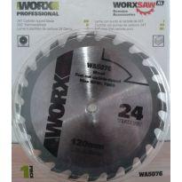 WA5076 - Kotouč na dřevo 115mm pro WU427 WORX