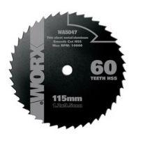 WA5077 - Kotouč na dřevo/kov 115mm pro WU427 WORX
